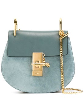 Chloé - Drew Shoulder Bag Cloudy Blue - Women