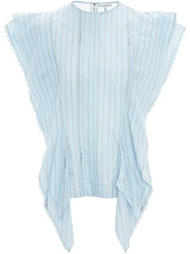 J.w. Anderson - Striped Kite Top - Women