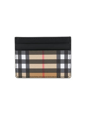 Burberry - Vintage Check Card Case - Wallets
