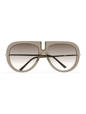 Titan Minimal Art – Futura Sunglasses Brass-Mint Mirror Gradient