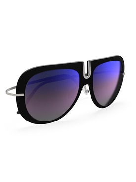 Titan Minimal Art – Futura Sunglasses SLM Blue-Mirror Gradient