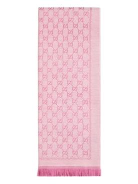 Pink Supreme logo scarf