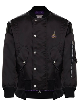 8 Moncler Palm Angels Axl Bomber Jacket