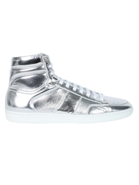 Saint Laurent - Silver Court Classic High-top Sneaker - Men