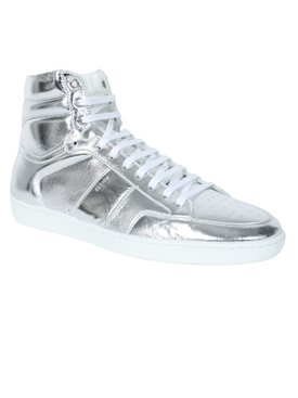 Silver Court Classic High-Top Sneaker