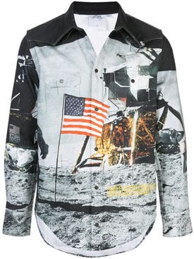 Calvin Klein Jeans Est.1978 - Moon Landing Denim Shirt - Men