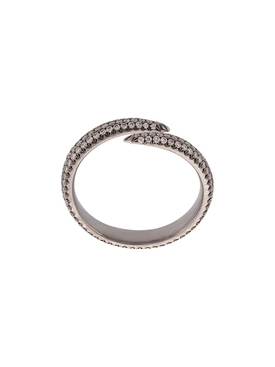 Wrap Claw Diamond Ring