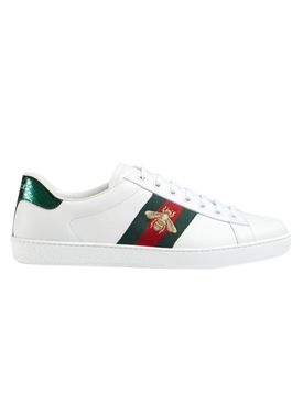 Ace Embroidered Low-Top Sneakers
