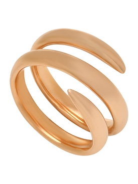 18k Rose Gold Snake Ring