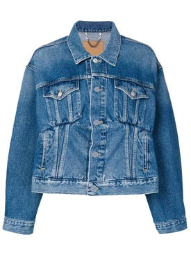 Balenciaga - Stitched Denim Jacket - Women