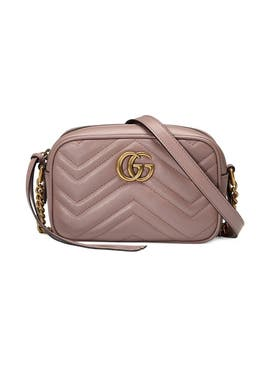 Gucci - Mini Marmont Shoulder Bag Dusty Pink - Women