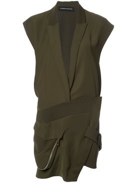 Alexandre Vauthier - Asymmetric Military Dress - Women