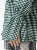 Burberry - Gathered Sleeve Gingham Shirt - Women