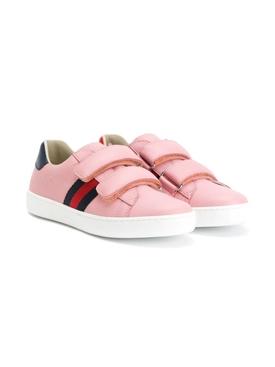 Kids Pink Ace Sneakers