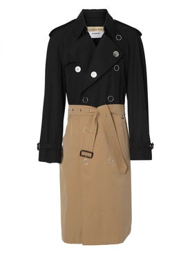 Burberry - Two-tone Trench Coat - Men