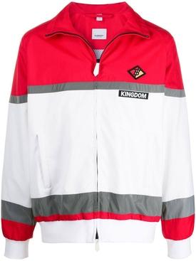 Kingdom striped track jacket