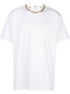 chain neck T-shirt