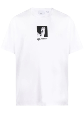 Swan Print T-Shirt