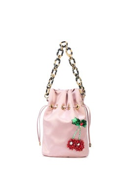 Edie Parker - Cherry Drawstring Bag - Women