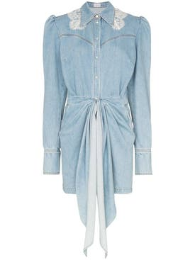 Magda Butrym - Wicksville Denim Mini Dress - Women