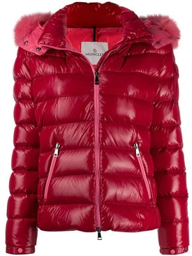 Moncler - Down Jacket With Fur Trim - Down Jackets