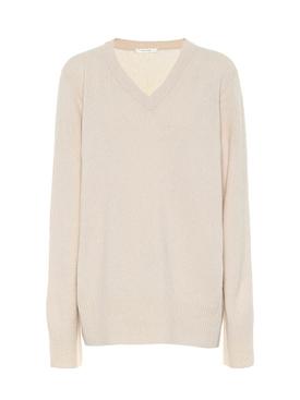 beige Elaine cashmere-wool sweater