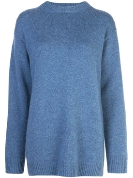 CASHMERE VAYA TOP BLUE