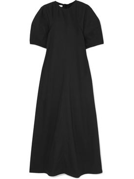 Co - Bubble Sleeve Long Dress - Women