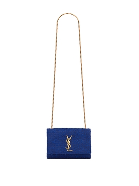 New Small Kate YSL Bag Indigo Blue
