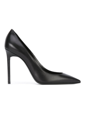 Saint Laurent - Black Leather Anja 105 Pump - Women