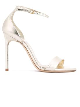 Amber 105 Ankle Strap Sandal Platino