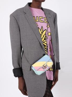 Multicolored Supermini GG Marmont Bag