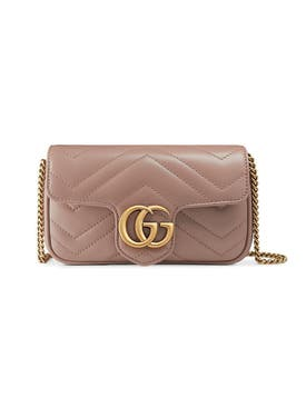 Gucci - Gg Marmont Matelassé Mini Bag Nude - Women