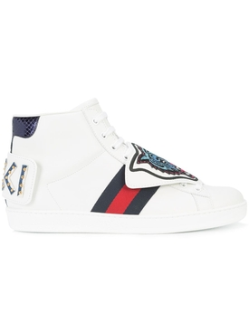 Ace High-Top Tiger Sneakers