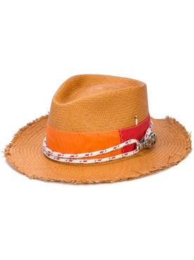 Nick Fouquet - Woven Raw Brim Hat - Men
