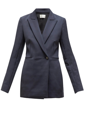 KOJA ONE BUTTON BLAZER DARK NAVY