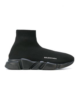 Balenciaga - All Black Speed Sock Sneakers - High Tops