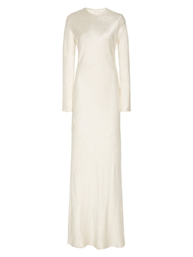 Co - Crinkled Ivory Maxi Dress - Women