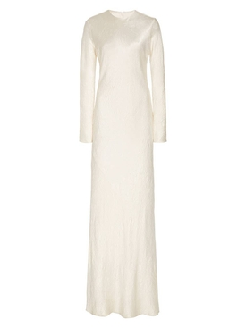 Co - Crinkled Ivory Caftan - Women