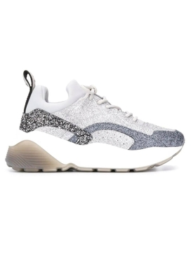 Stella Mccartney - Glittered Eclypse Sneakers - Women