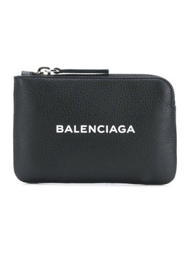 Balenciaga - Everyday Zip-around Wallet Black - Wallets