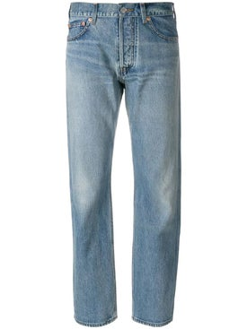 Balenciaga - Light Blue Straight Leg Jeans - Women