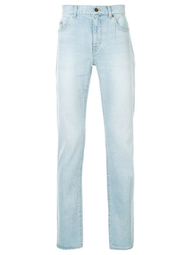 Saint Laurent - Classic Straight Leg Jeans Blue - Men