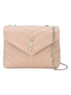 YSL Lou Lou Shoulder Bag, Sand
