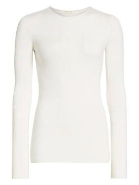 The Row - Ivory Tumelo Wool Top - Women