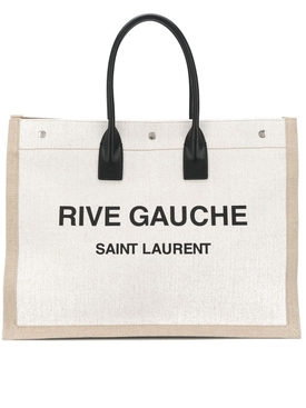 YSL Rive Gauche Tote Bag Neutral