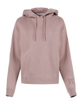 Rose beige foundation terry hoodie
