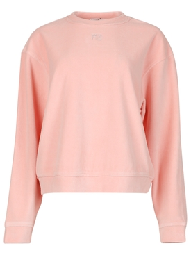 Crystal Logo Sweatshirt Quartz Pink