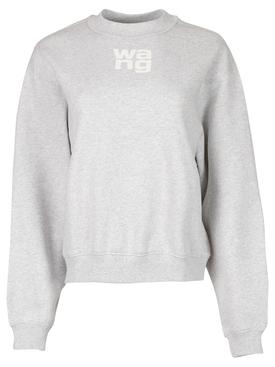 Puff Logo Sweatshirt Heather Grey