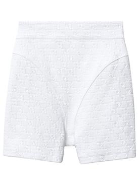 Logo jacquard Bike Shorts